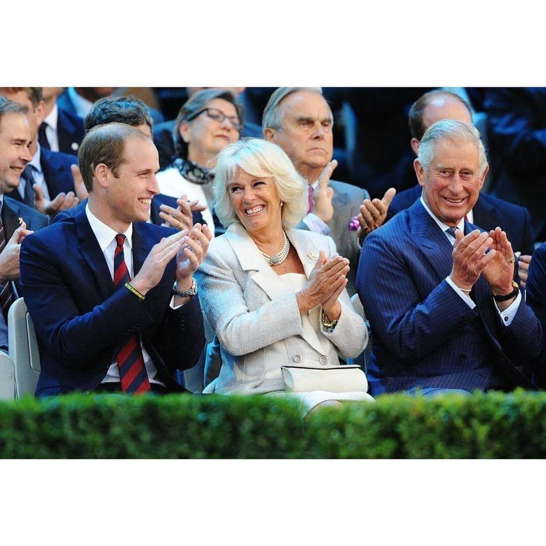 Принц Чарльз і принц Вільям.