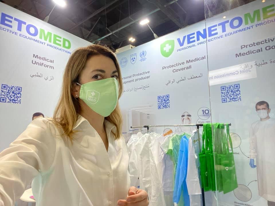 Продукція VenetoMed в ОАЕ.
