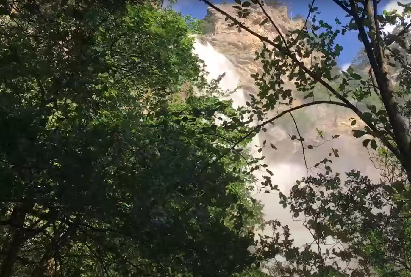 Водопад Учан-Су .