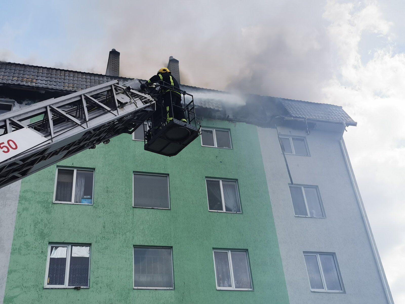 Пожежу вдалося локалізувати.