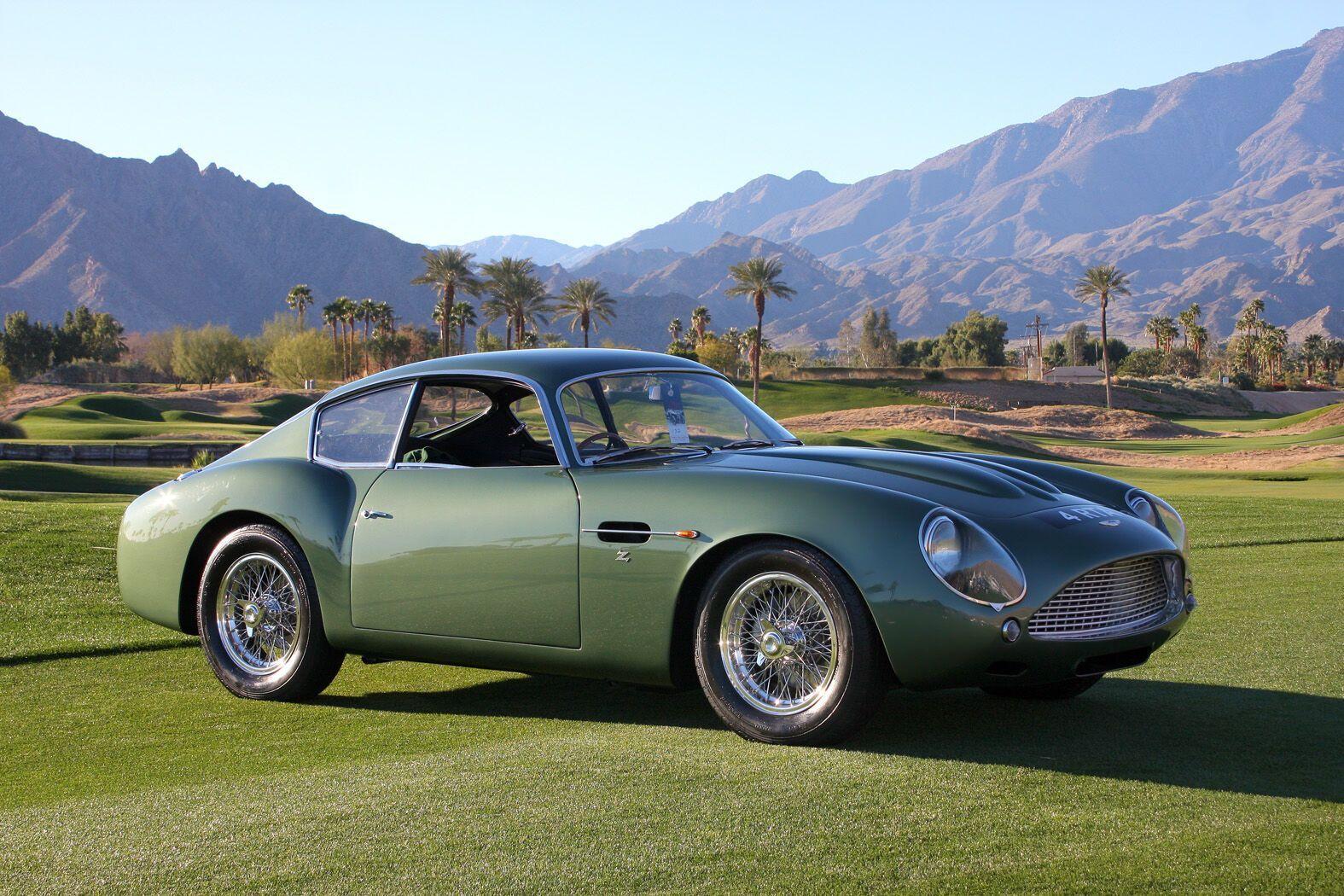 Aston Martin DB4 GT стал самым быстрым авто 50-х