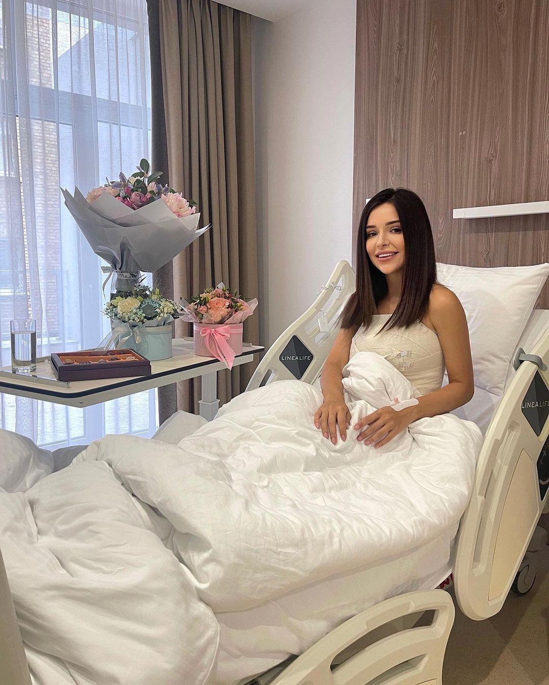 Надин Медведчук показала себя после операции
