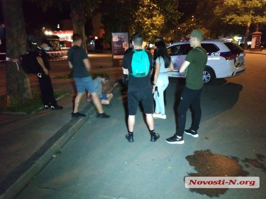 У центрі Миколаєва сталася серйозна бійка.