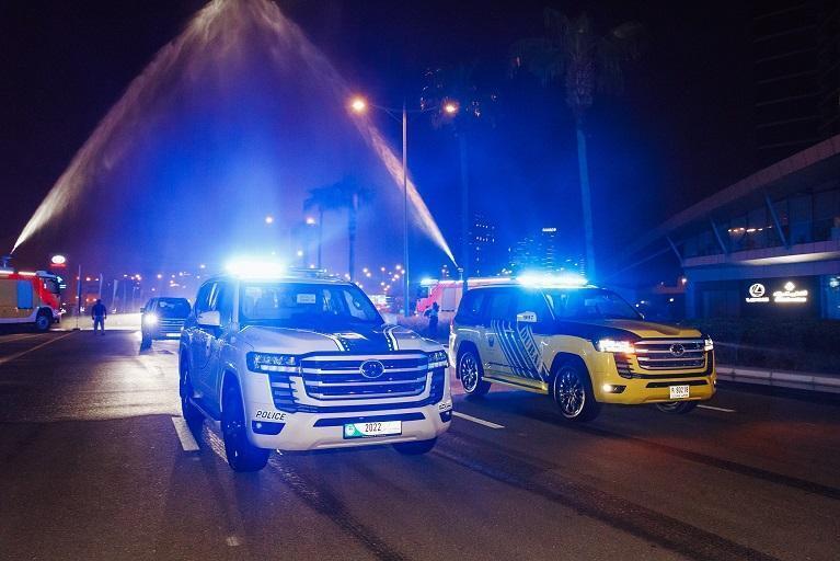 Toyota Land Cruiser 2022 року, на яких будуть їздити поліцейські в ОАЕ