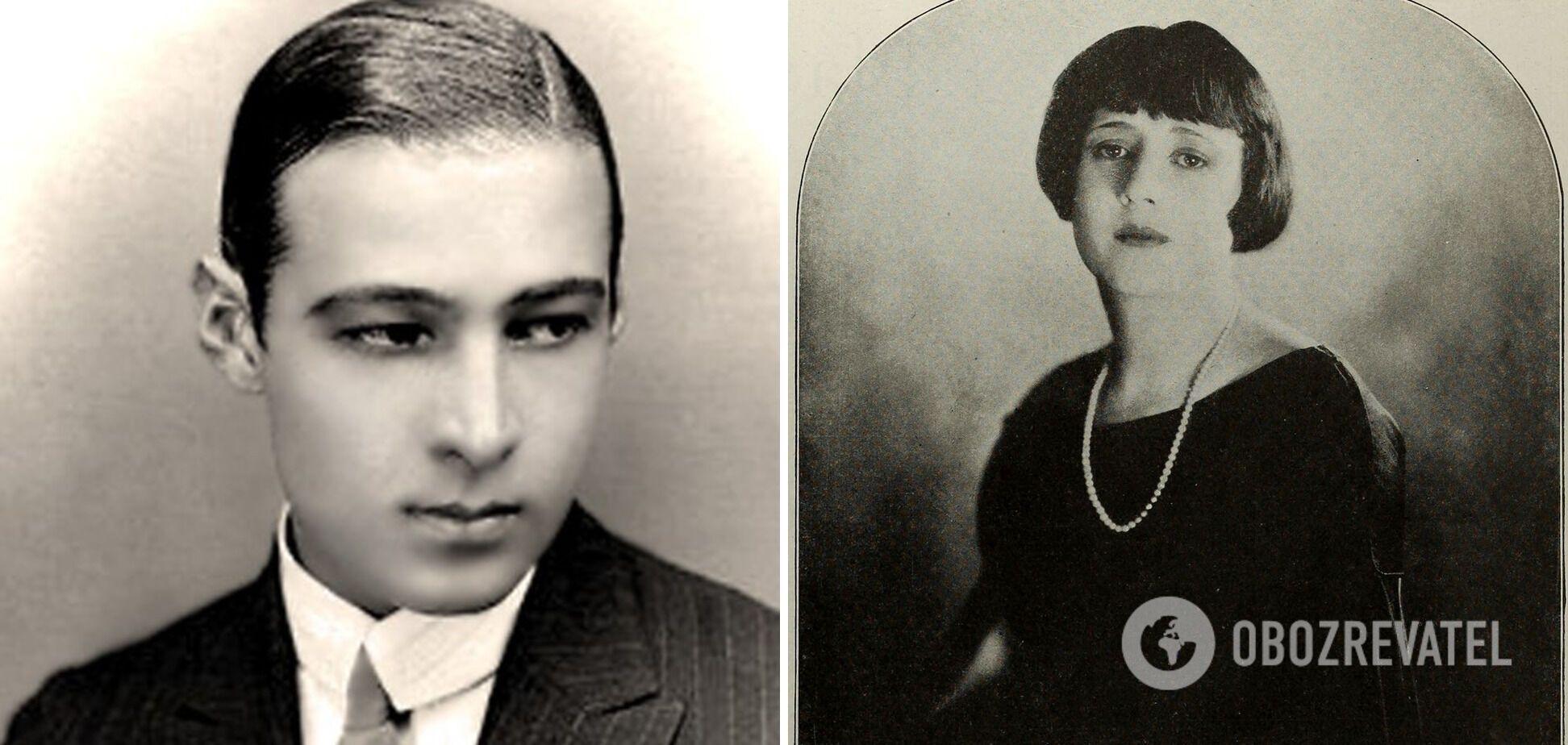 Джин Акер и Рудольф Валентино поженились в 1919 году.