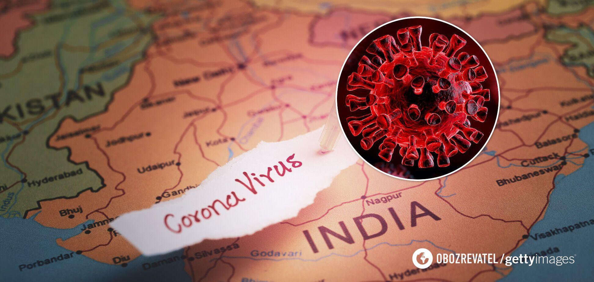 Мутований штам COVID-19 Дельта поширився із Індії в 92 країни світу