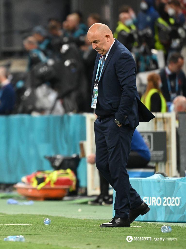 Станислав Черчесов расстроен вторым разгромным поражением на Евро-2020