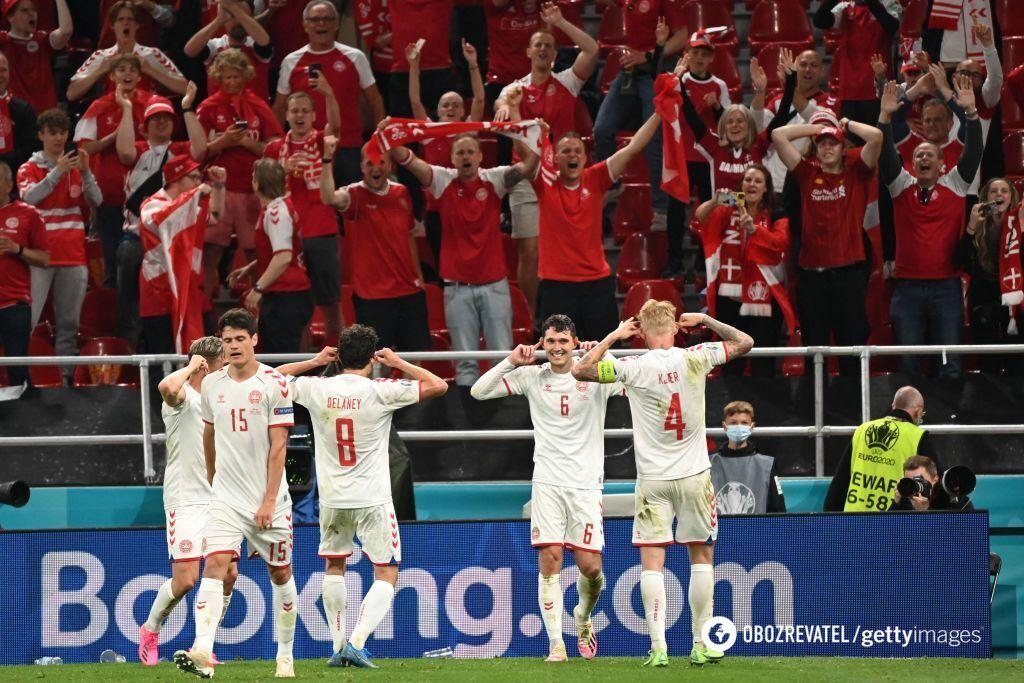 Дания сыграет в 1/8 Евро-2020