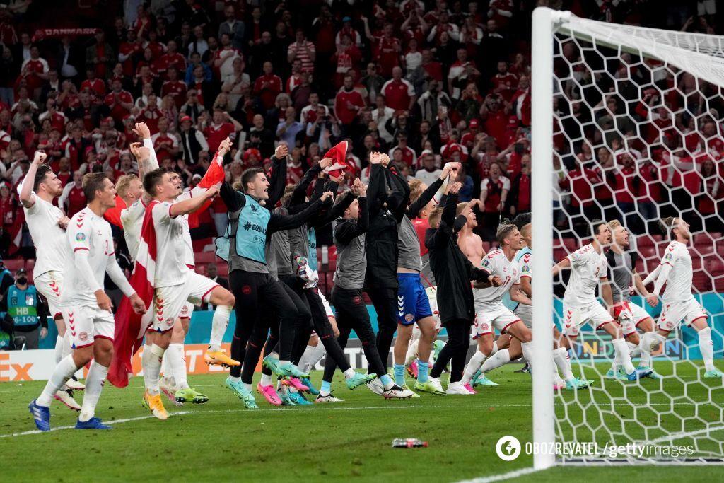 Данія вибила в плей-оф Вельс і Чехію.