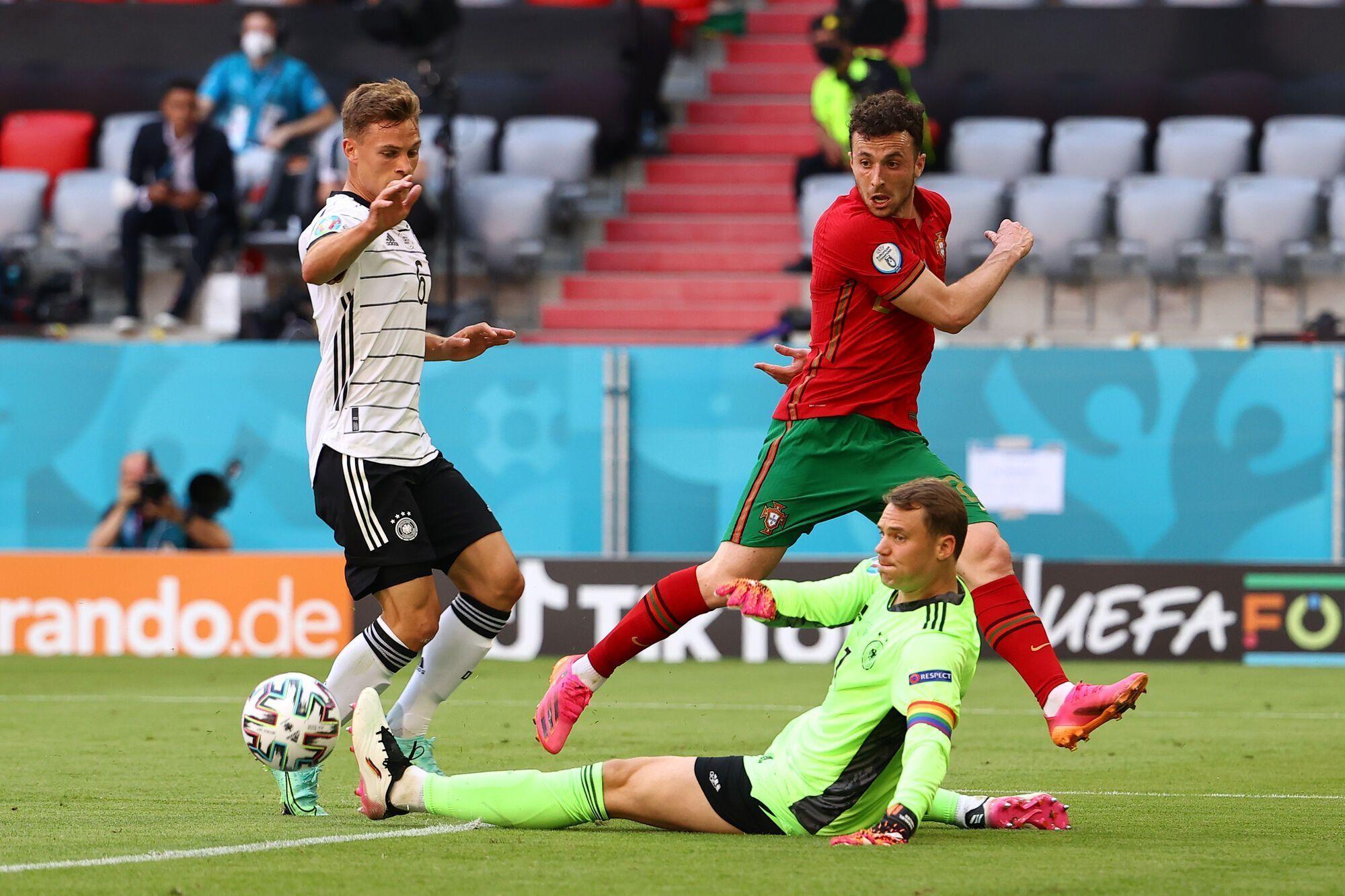 Португалия в прошлом туре была разгромлена Германией