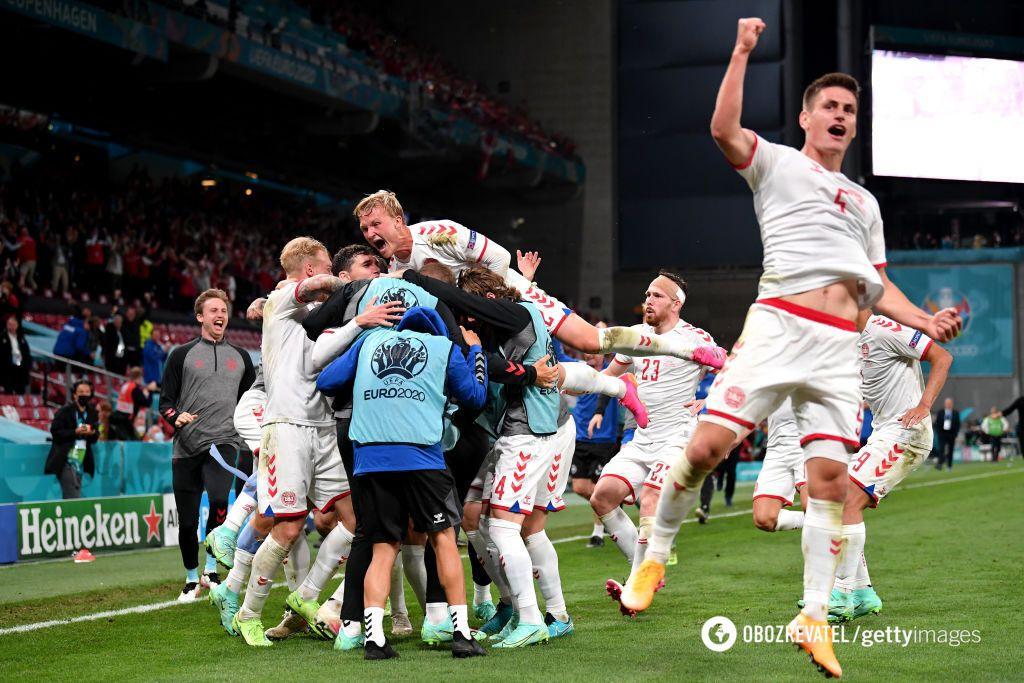 Дания вырвала путевку в плей-офф после двух поражений