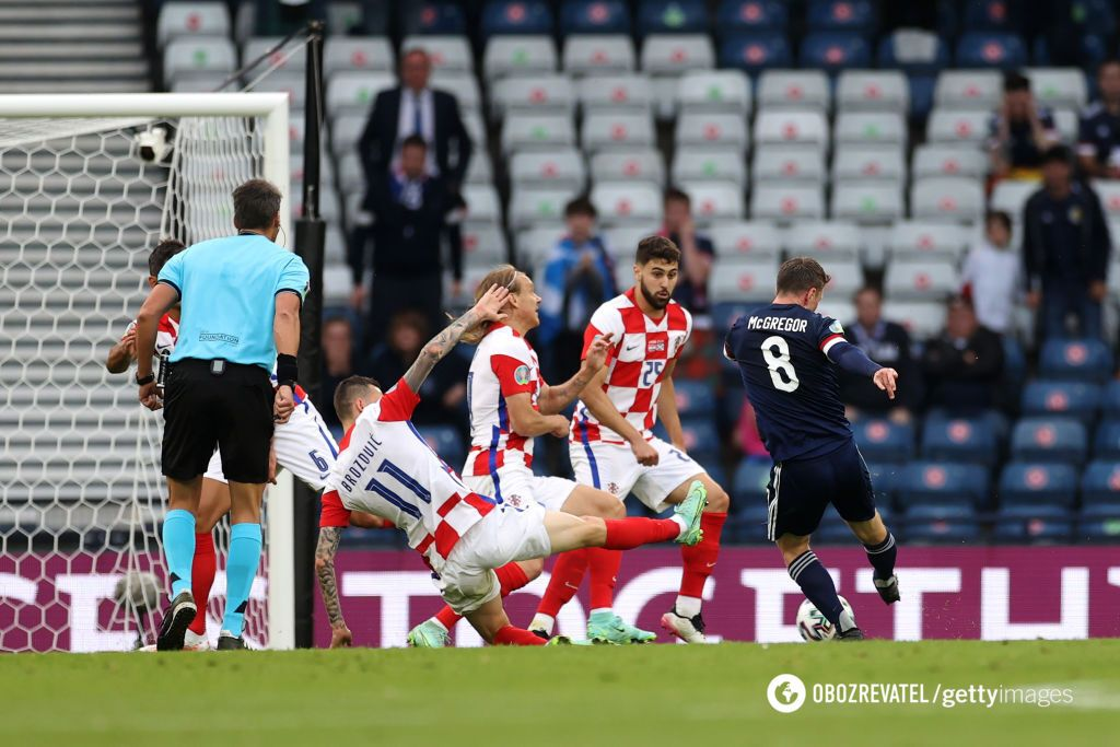 Макгрегор забив Хорватії.
