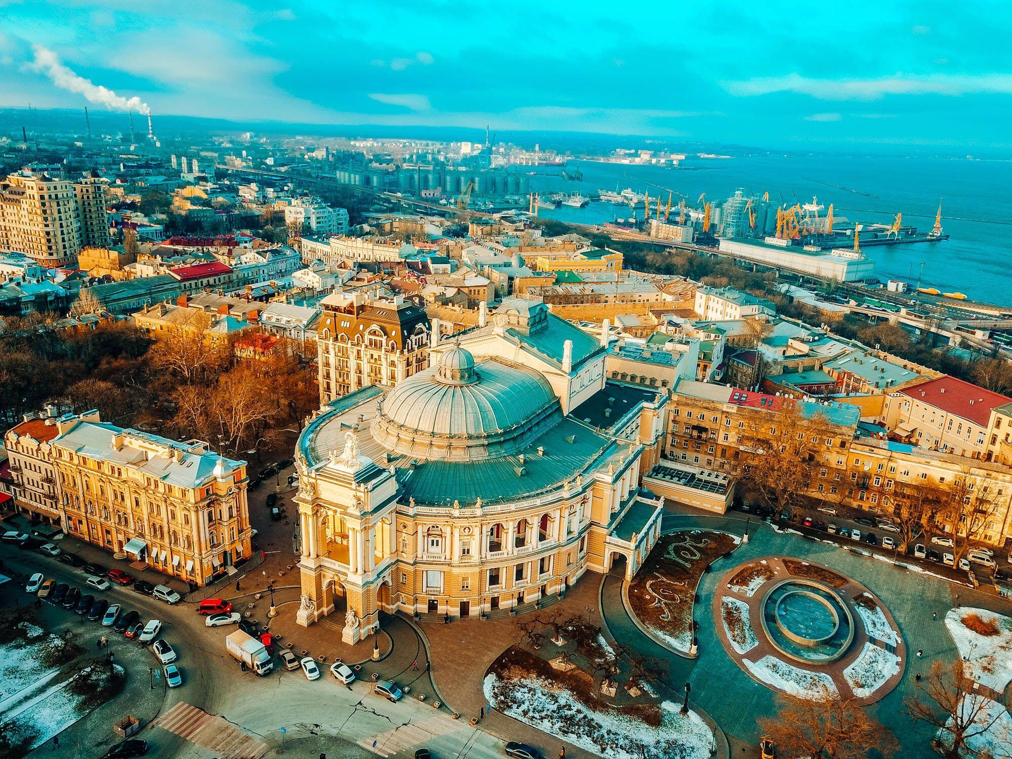 Одессу неспроста называют жемчужиной Черного моря