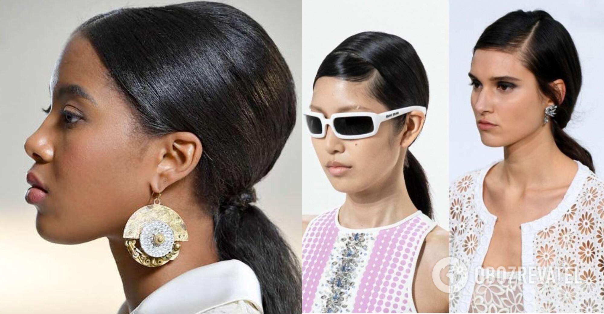 Цього літа надпопулярною зачіскою буде низький хвіст