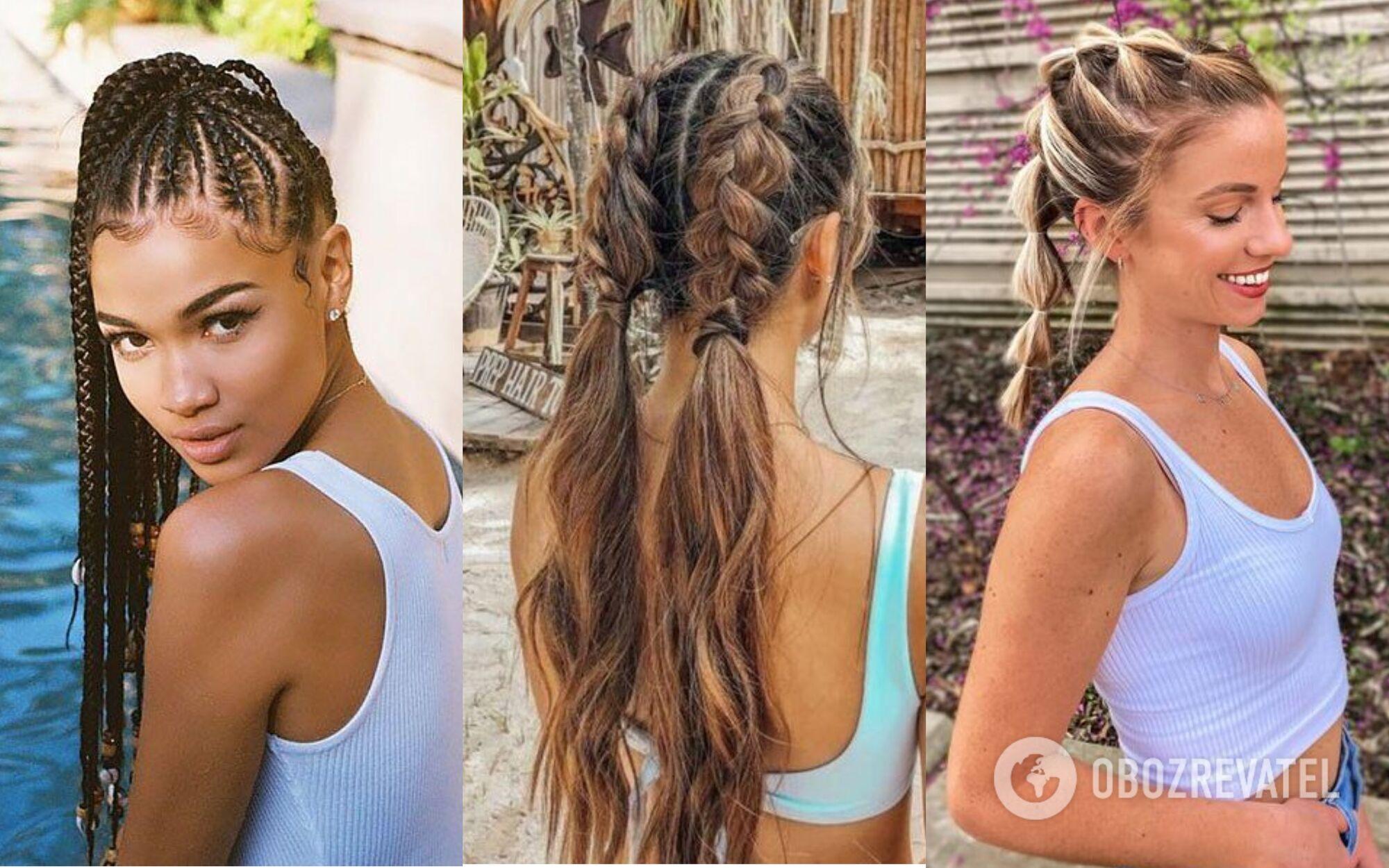 Коси – найзручніший варіант зачіски для купання