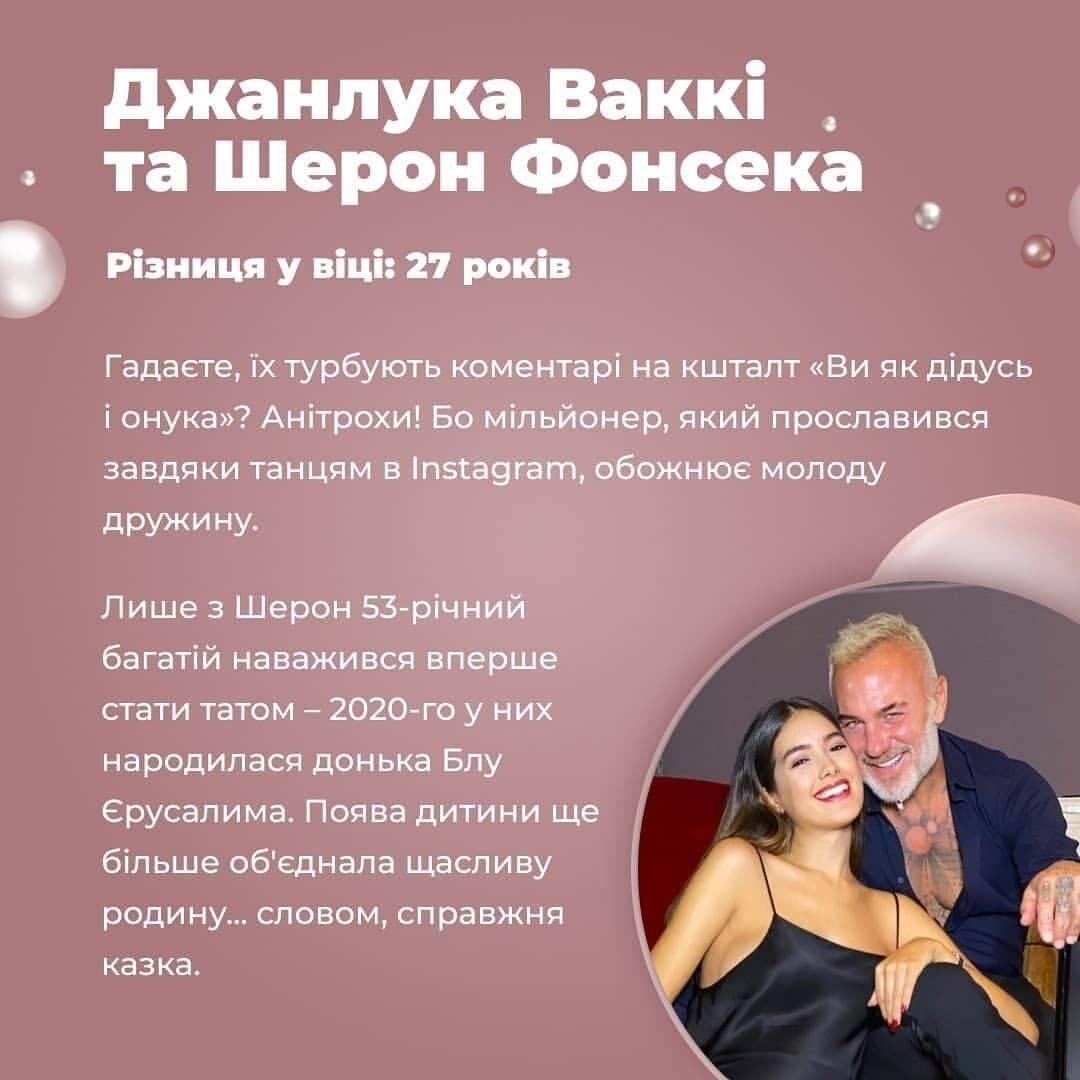 Джанлука Ваккі і Шерон Фонсека