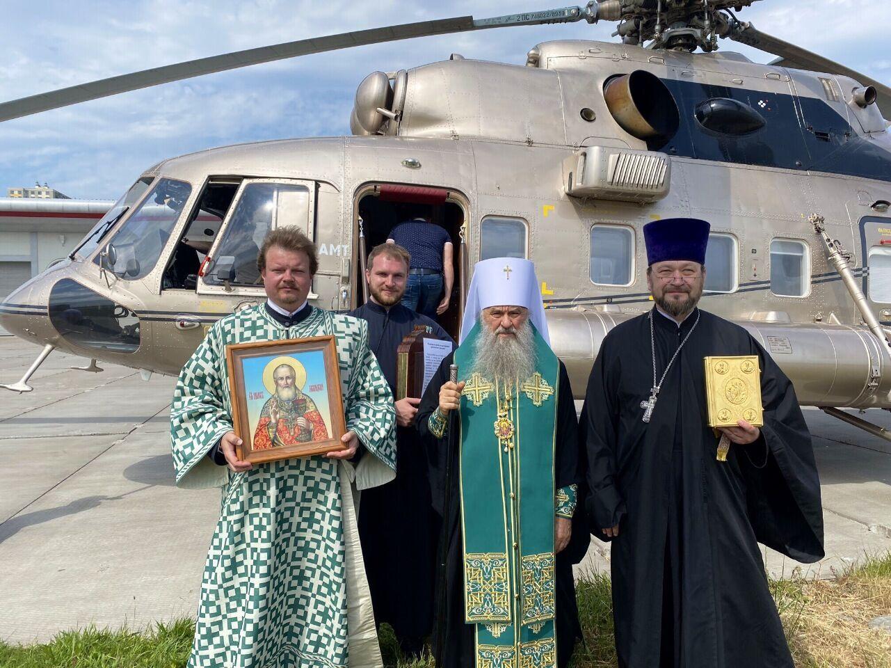 Над Петербургом помолилися про позбавлення від пандемії.