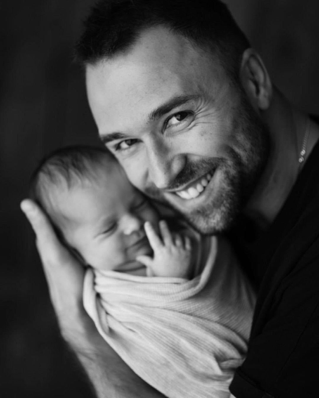 Макс Михайлюк із донькою