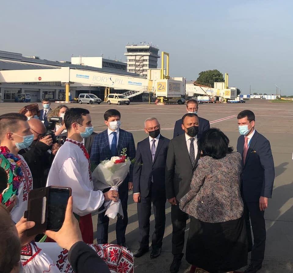 Зурабишвили встретится с Зеленским.