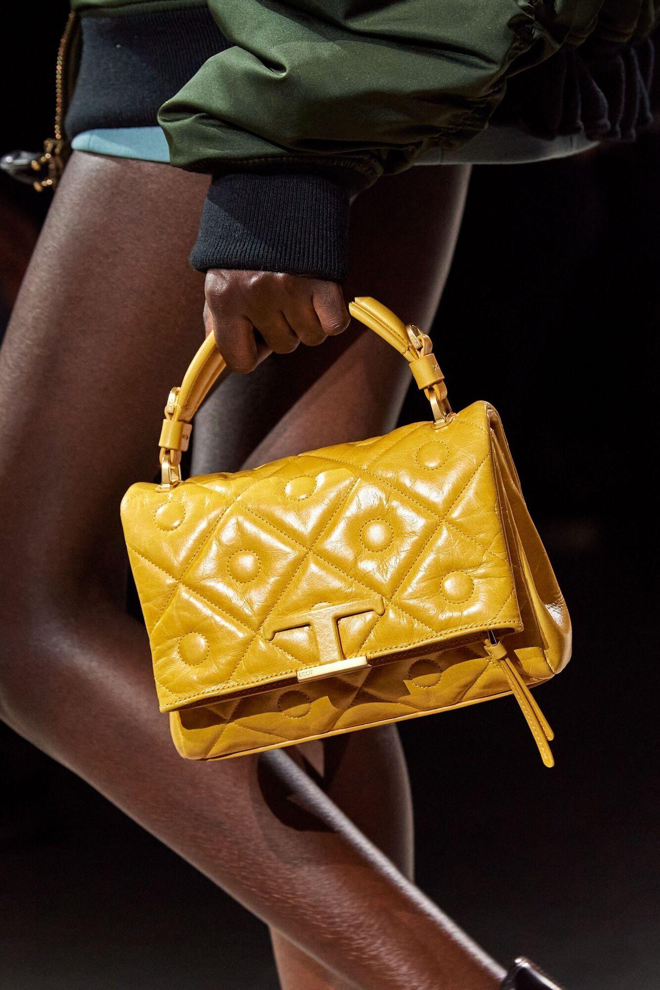 Модная стеганая мягкая сумка
