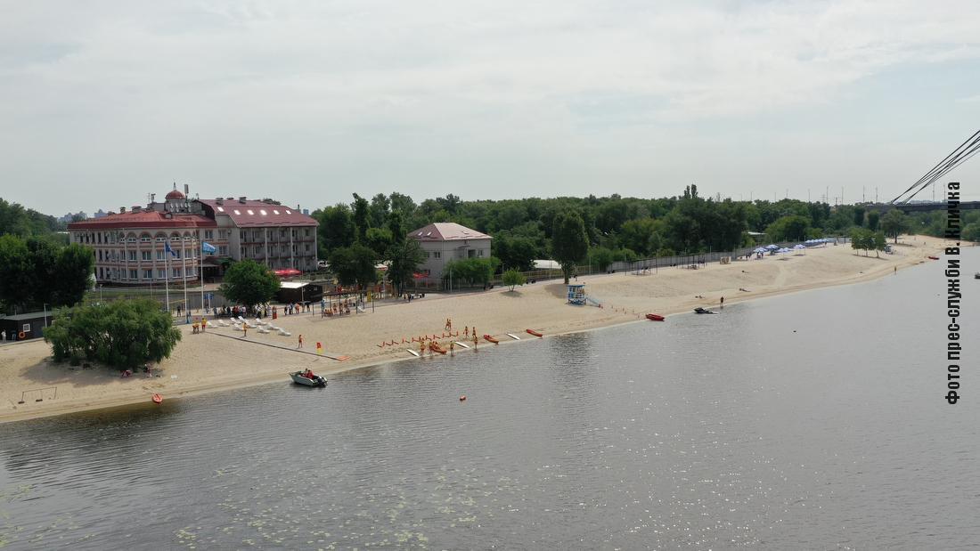 Міжнародне визнання отримали 9 пляжів столиці.