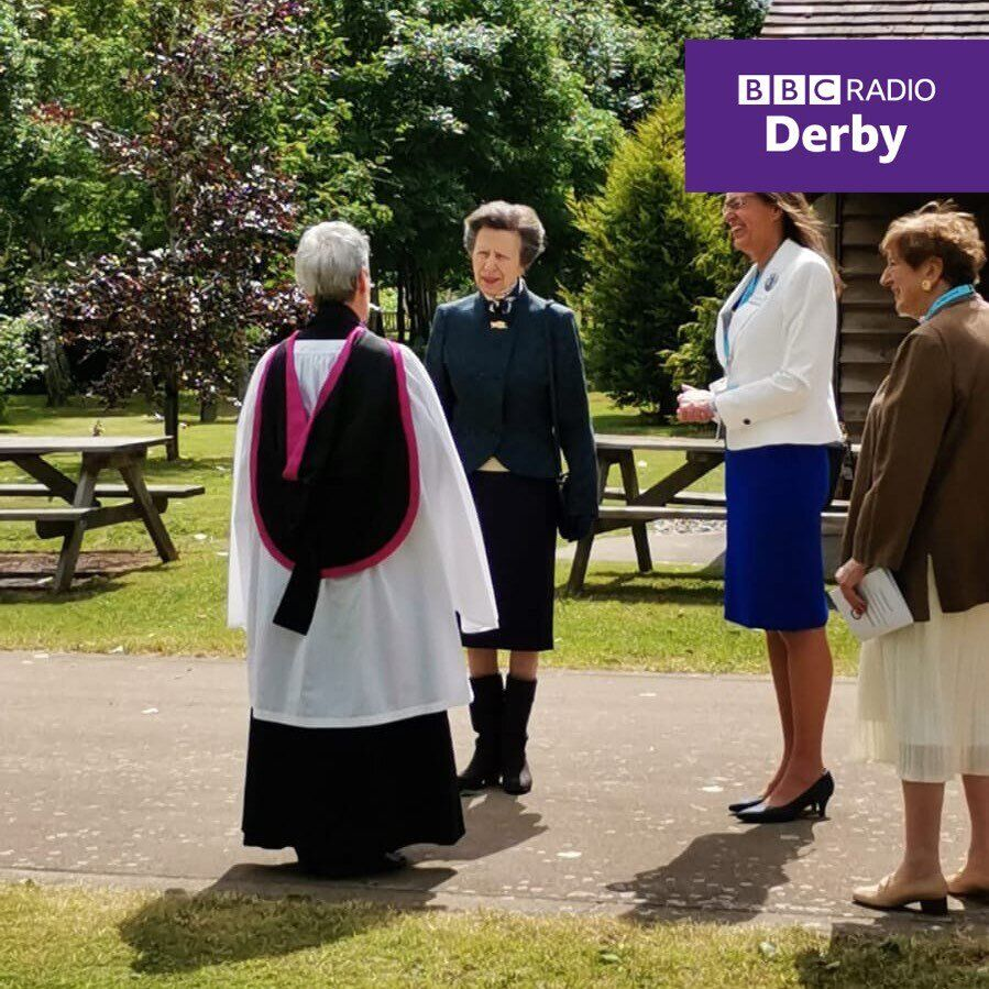 Принцесса Анна показала элегантный наряд.