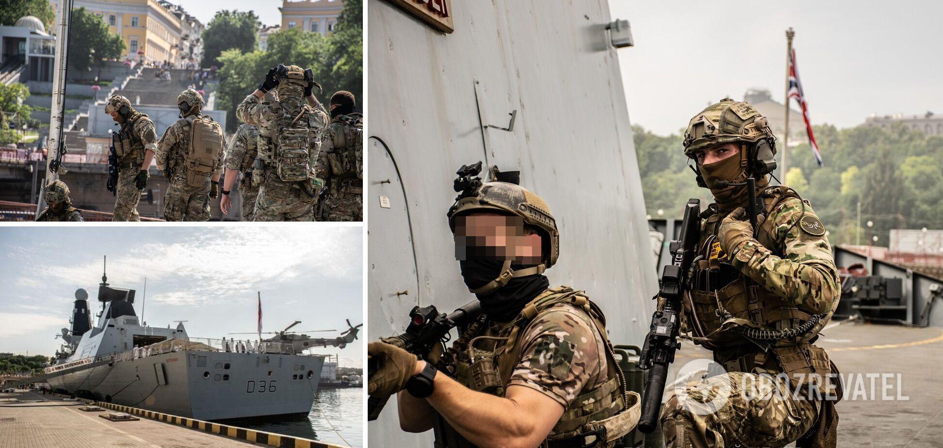 Тренування Сил спеціальних операцій України, Британії та США