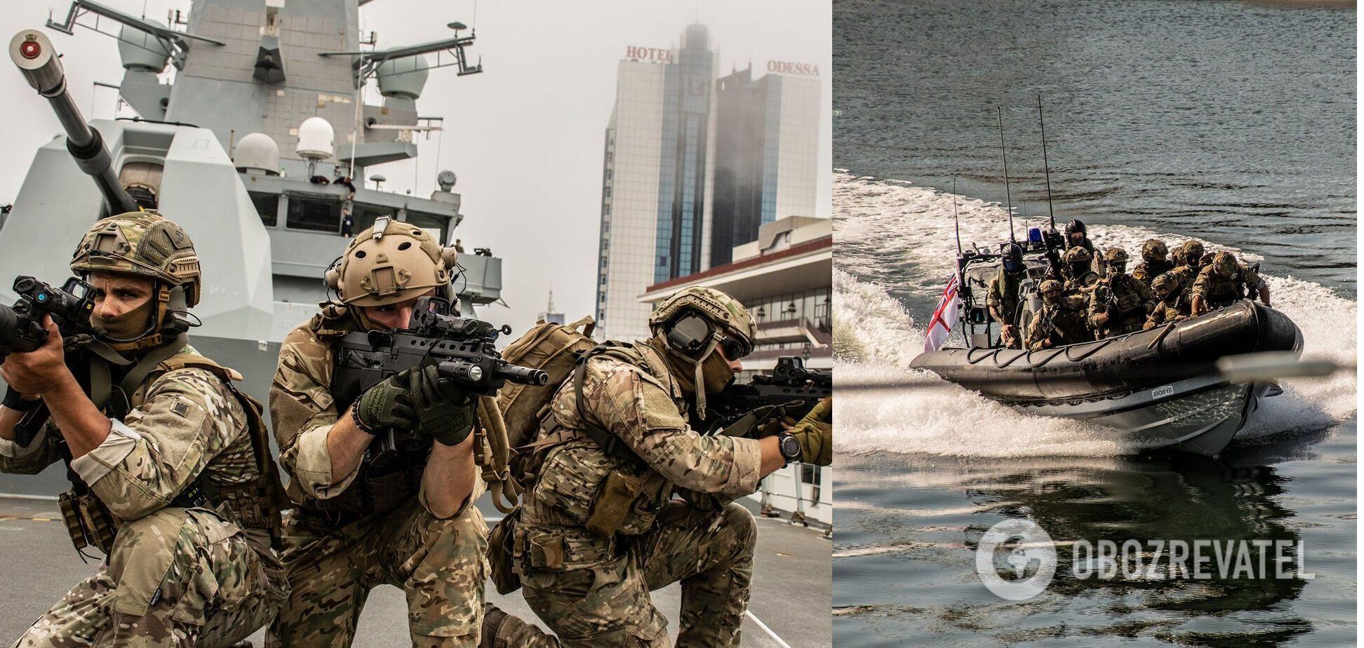 Тренування ССО України, Британії та США
