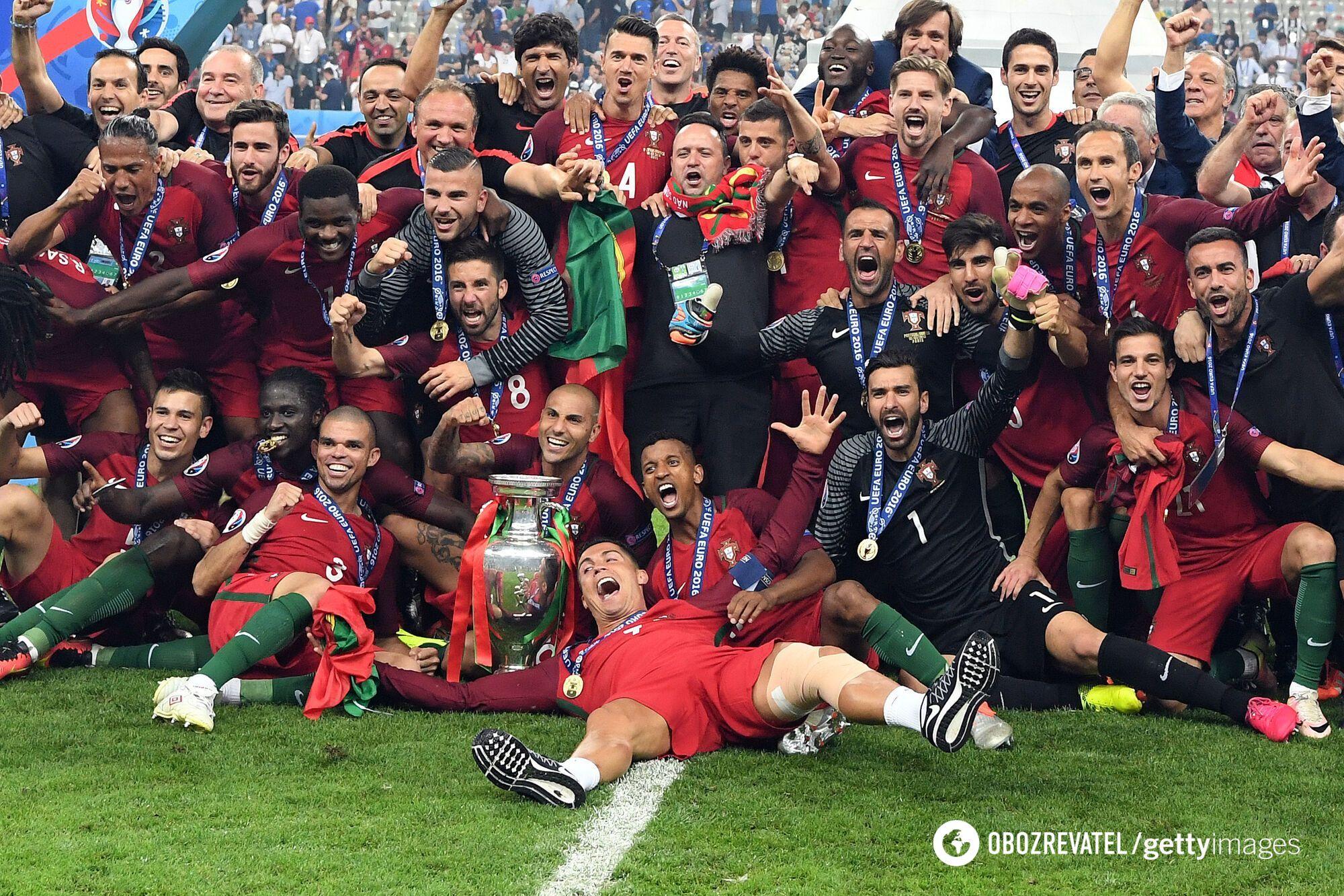 Португалія виграла Євро-2016