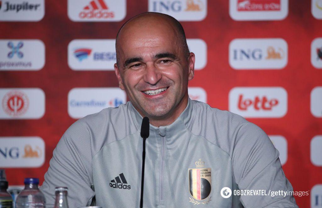 Роберто Мартінес, головний тренер збірної Бельгії