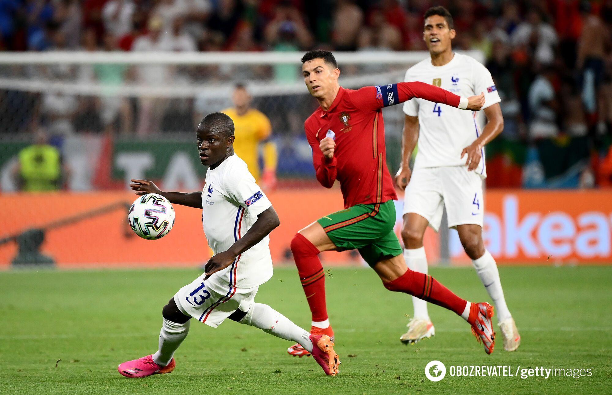 Португалія щільно грала в захисті