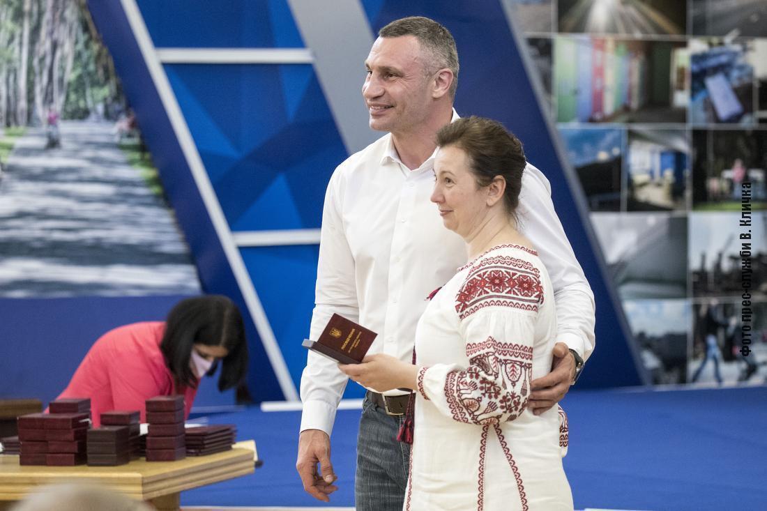 Кияни отримали державні та урядові нагороди України, відзнаки ЦВК, Почесні грамоти та Подяки міського голови