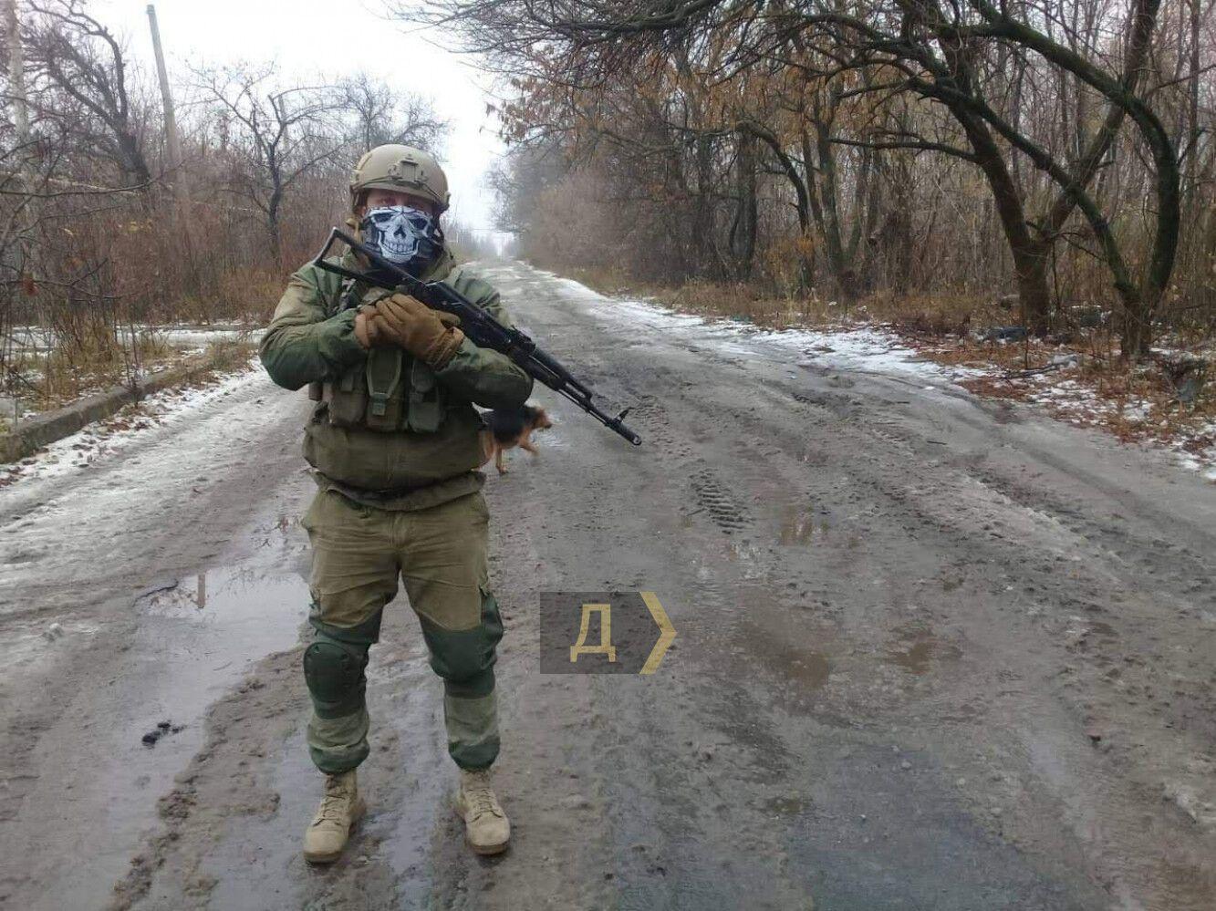 "Український снайпер ""Курт""."