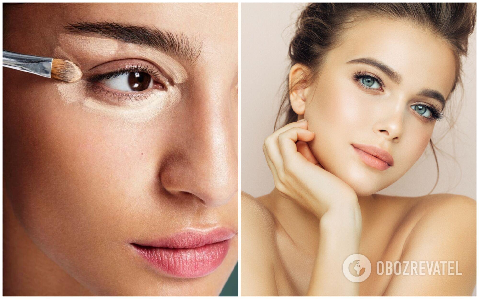 Чтобы не было конфузов, лучше использовать консилер под глаза одного оттенка с тональным кремом