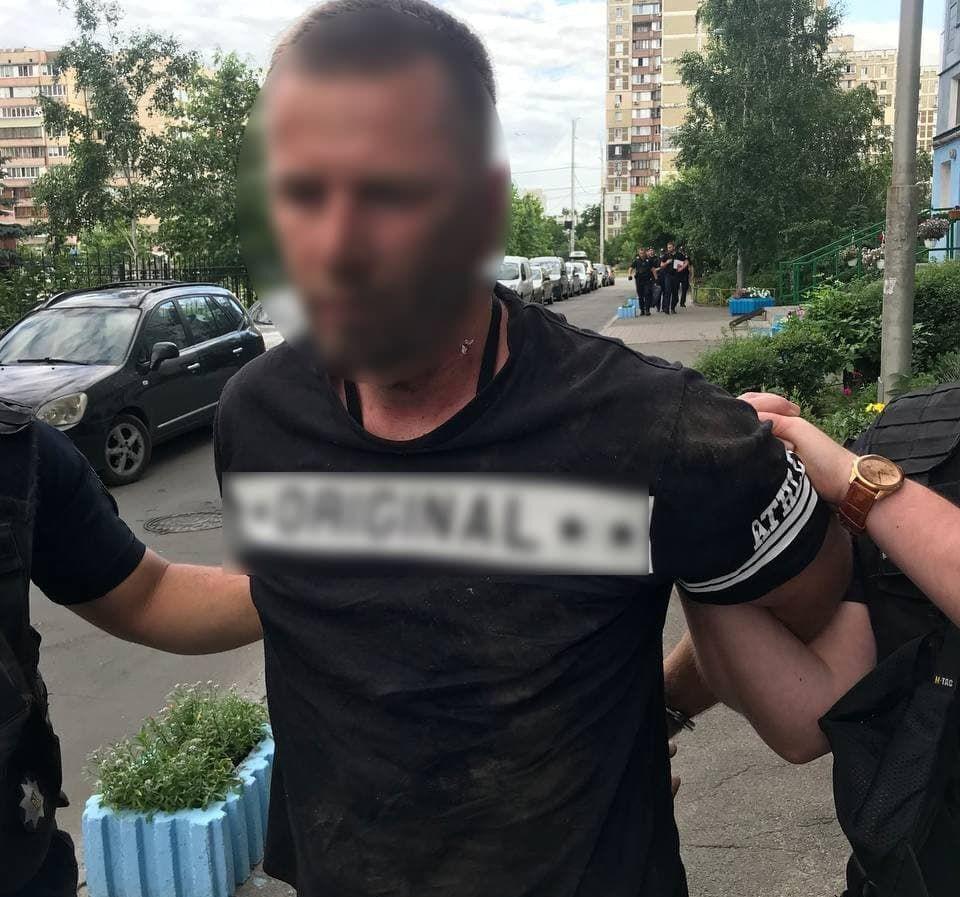 Затриманий після вбивства в Києві 44-річний Ілля С.