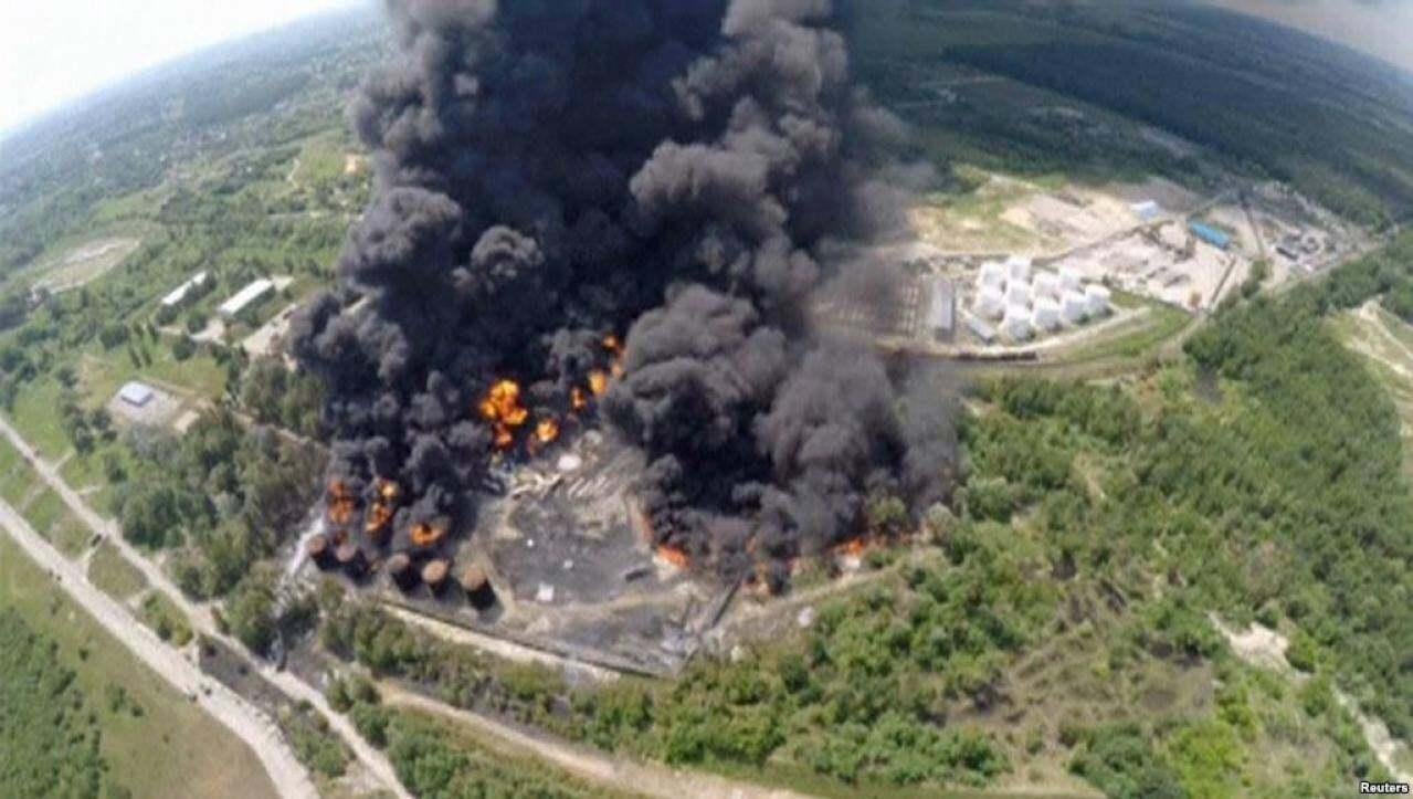 Пожар в Василькове шесть лет назад.