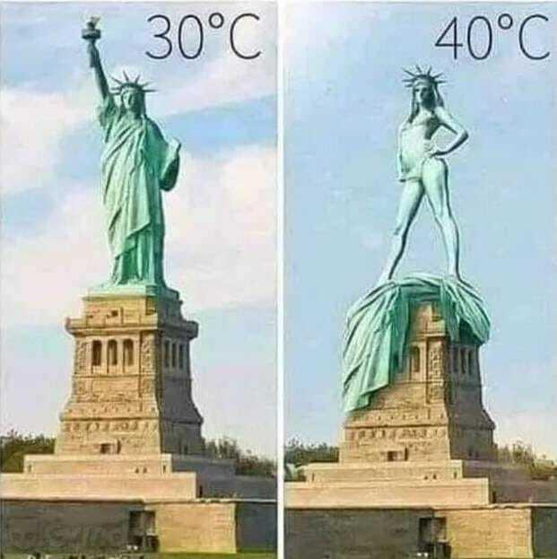 Мем о жаре