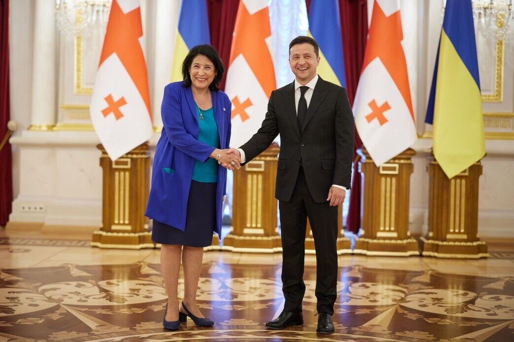 Зурабішвілі перебуває в Києві з офіційним візитом
