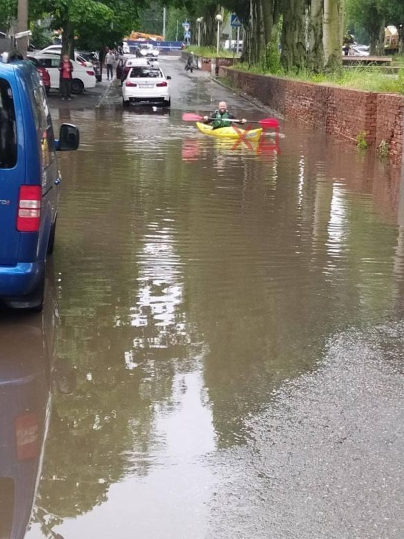 Потоп в Днепре.