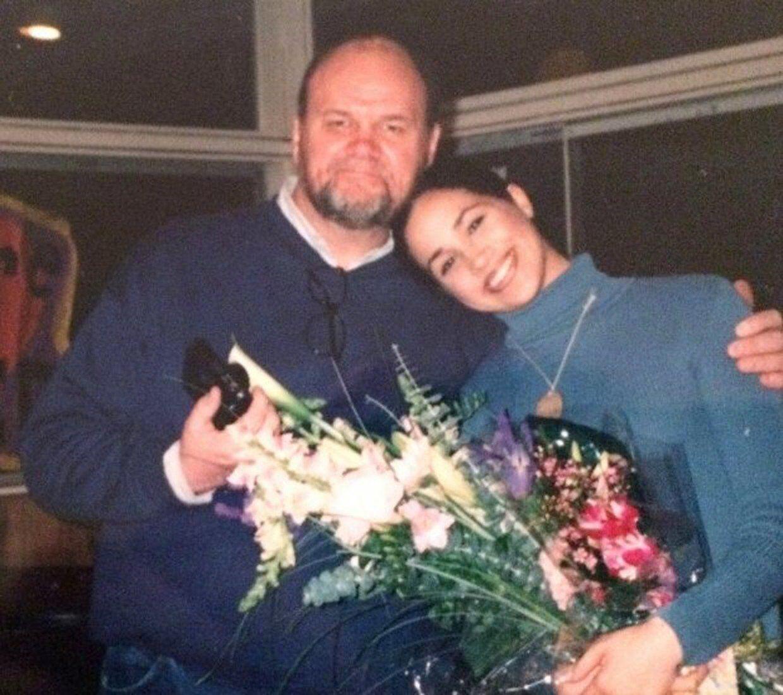 Меган Маркл с отцом