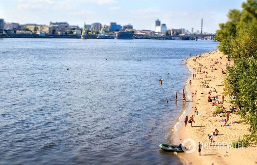 У Києві небезпечно купатися на пляжах