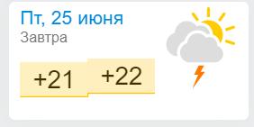 Погода в Залізному Порту