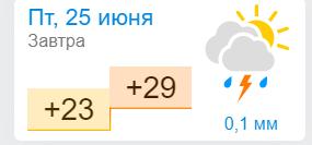 Погода в Бердянську