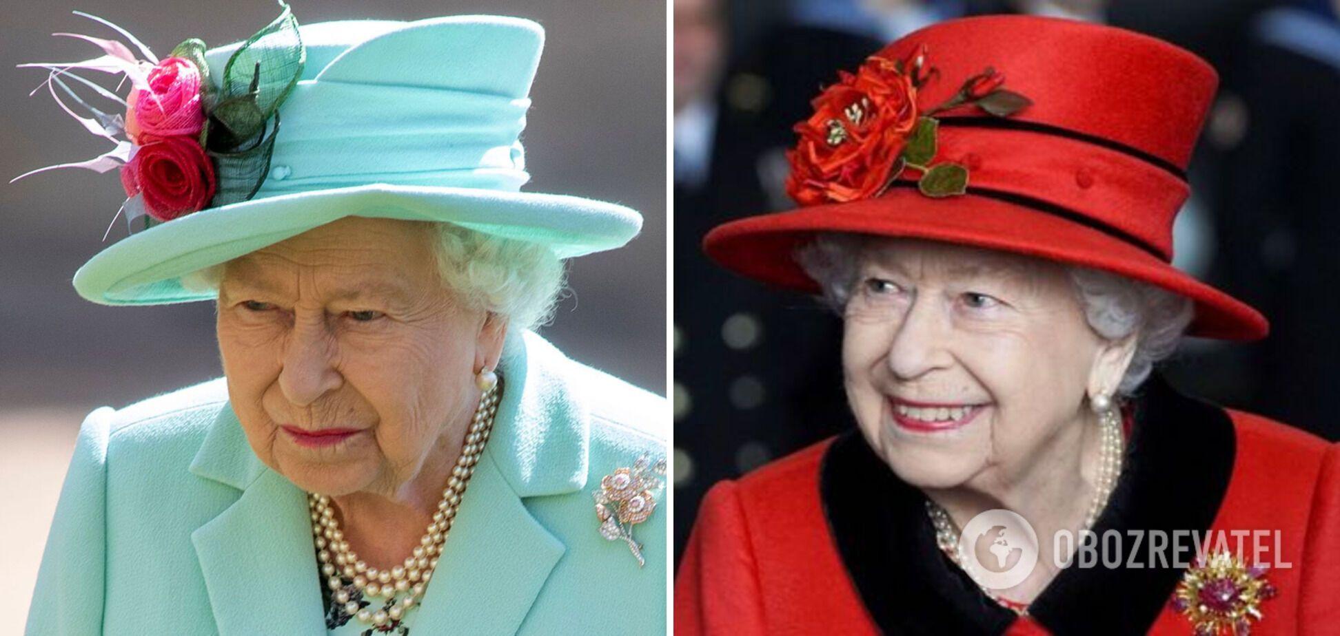 Королева Британии всегда носит яркую одежду.