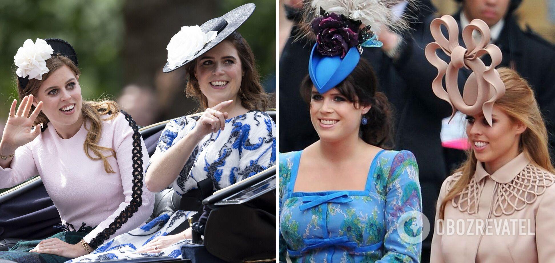 Прицеса Евгения часто появляется в экстравагантных шляпах.