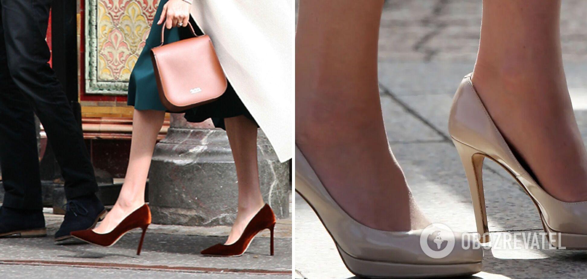Герцогини надевают туфли на размер больше.