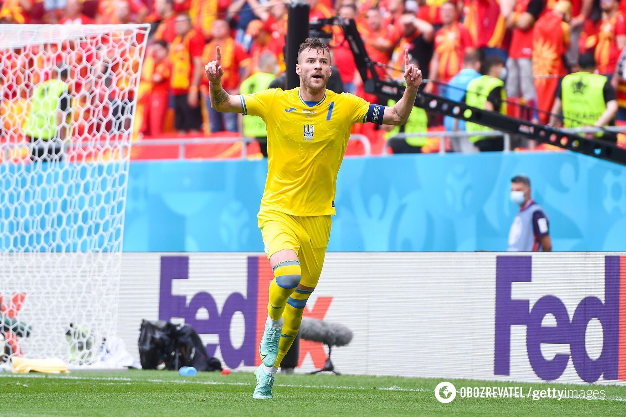 Андрей Ярмоленко – лидер сборной Украины.