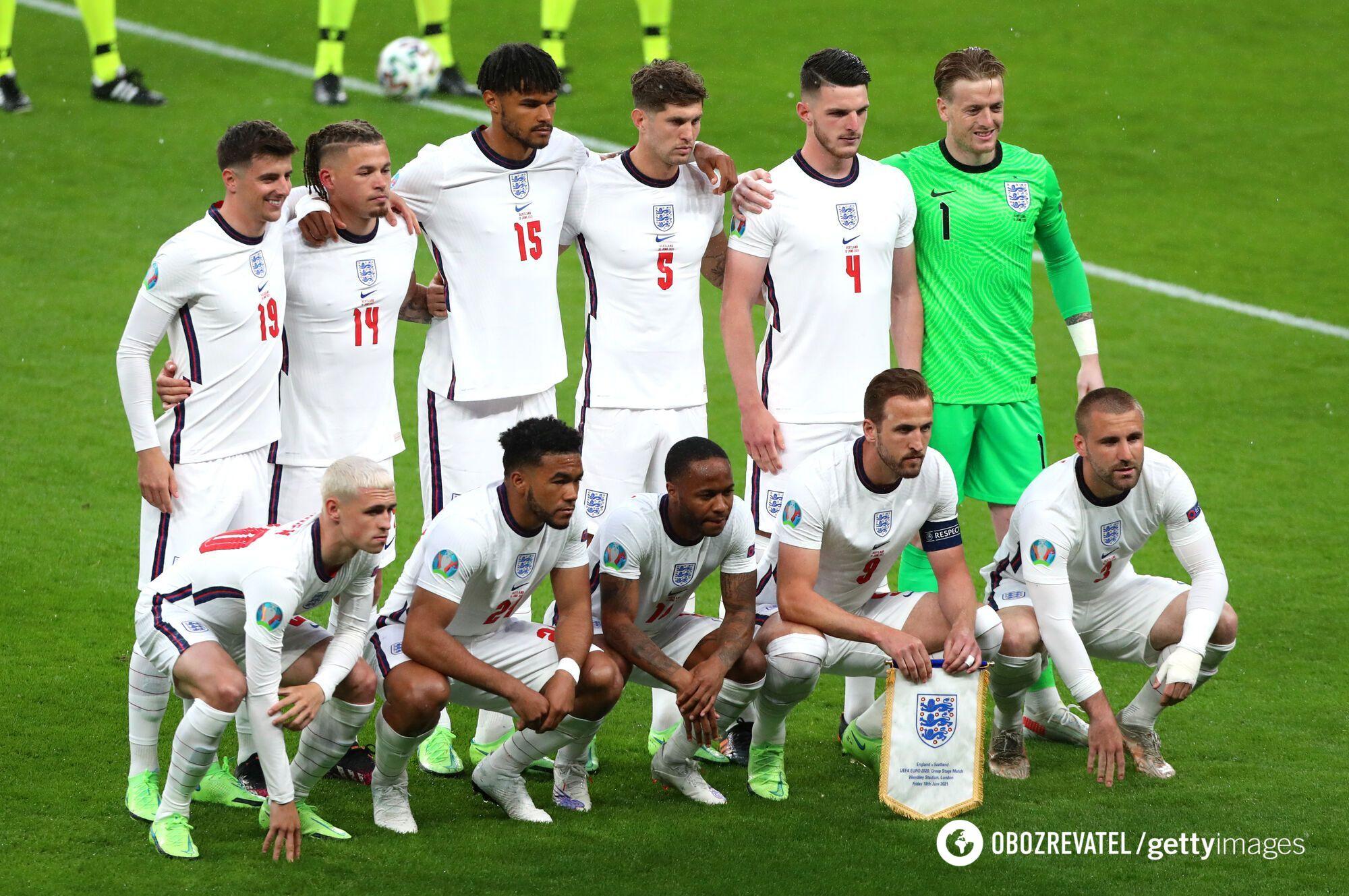 Збірна Англії з футболу.