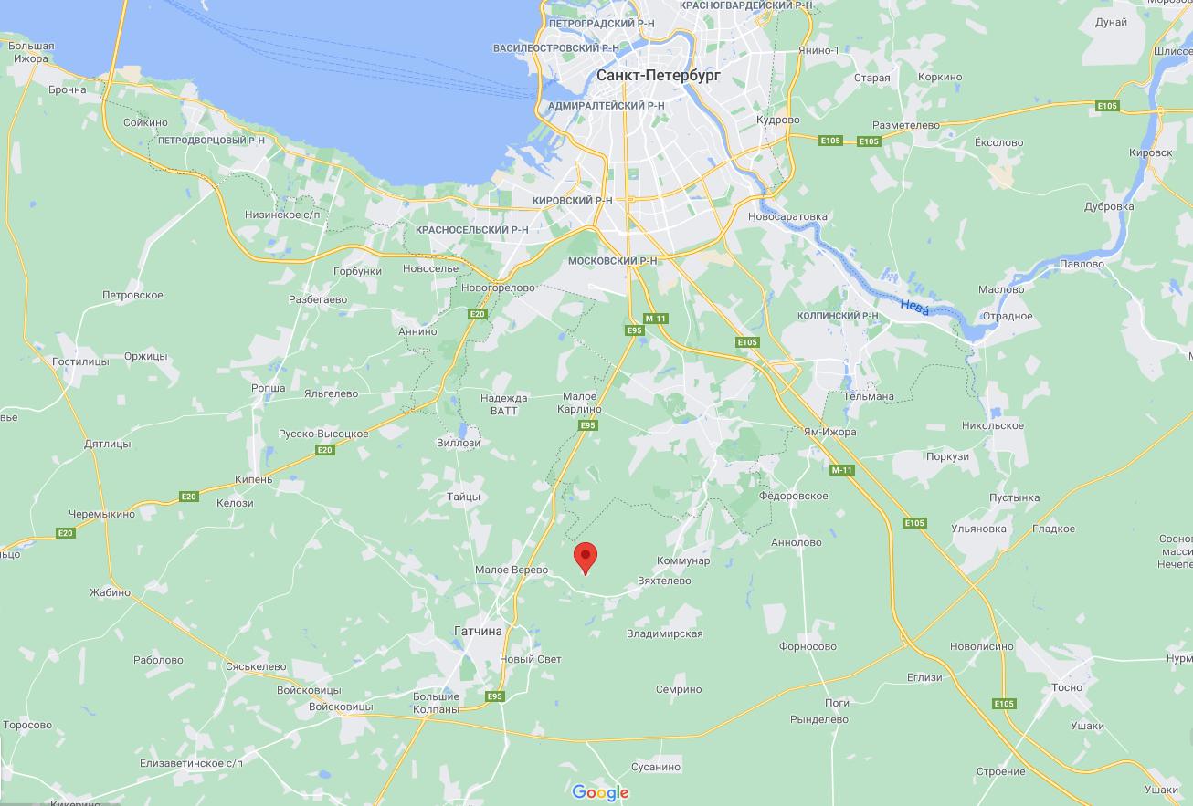 Вертолет упал в районе села Корпикюля.