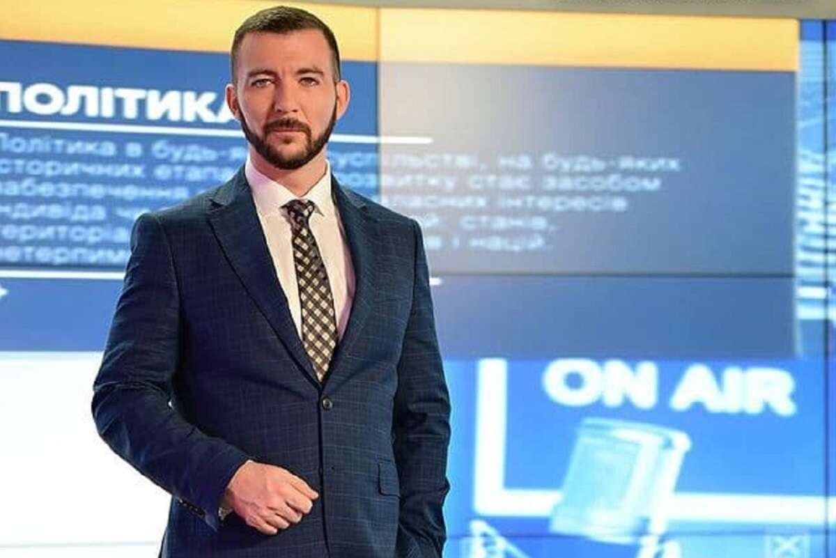 Нікіфоров у телестудії